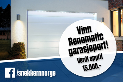 Vinn Renomatic garasjeport