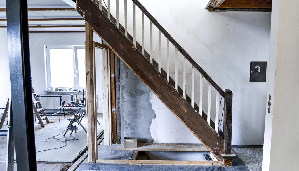 gammel trapp